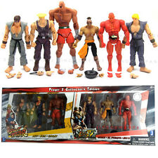 Fashion Toy 4in. STREET FIGHTER SAGAT EL FUERTE KEN GUILE SETH RYU ACTION FIGURE