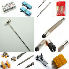 Watch Remover Link Pins Strap Band Back Case Opener Hammer Tools Spring Bars