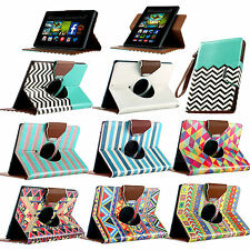 360 Rotating Magnetic Leather Case Smart Cover For Amazon Kindle Fire HD 7 2013