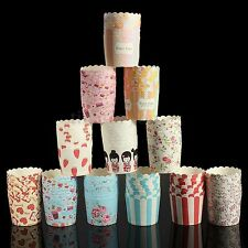 50pcs Utility Cake Baking Paper Cup Cupcake Muffin Cases fit Home Party 2""