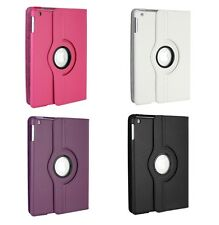 PU LEATHER 360 DEGREE ROTATING CASE COVER STAND FOR APPLE iPAD AIR 2- iPAD 6