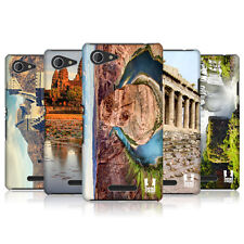 HEAD CASE DESIGNS FAMOUS LANDMARKS CASE COVER FOR SONY XPERIA E3 DUAL D2212