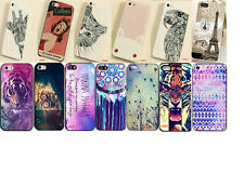 New Colored Drawing Various Pattern Hard Back Skin Case Cover for Iphone 5S 4s