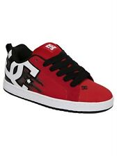 DC Skate Shoes COURT GRAFFIK SE RED/BLACK/WHITE