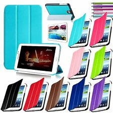 "Folio PU Leather Stand Case Cover For Samsung Galaxy Tab 3 7.0"" 7"" Tablet P3200"