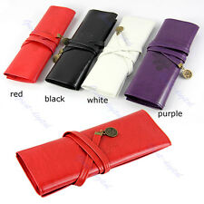 1PC Leather Cosmetic Make up Pen Pencil Case Twilight New Moon Pouch Purse Bag