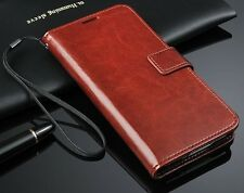 New Luxury Leather Flip Card Wallet Stand Case Cover For Samsung Galaxy S5 I9600