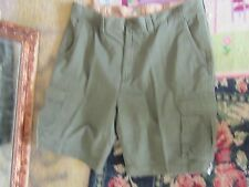 NWT Pair of 44 St John's Bay Legacy Flat Front or Cargo  Short size 44 green