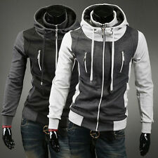 Fashion Comfy Sports Hoodies Men's Varsity Sweatshirt Coats Outwear Jacket Tops