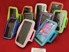 SPORTS BIKING RUNNING GYM EXERCISE ARMBAND CASE POUCH FOR HTC Desire 510 610 612