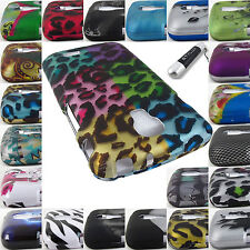 FOR LG ACCESS L31G LTE / F70 DESIGN HARD SHELL SNAP-ON CASE COVERS+STYLUS