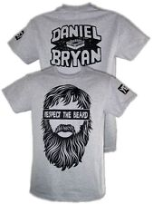 Daniel Bryan Respect the Beard Mens Gray T-shirt