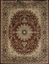 Feraghan Isfahan Mediallion Wool Blend Area Rugs Fast Ship