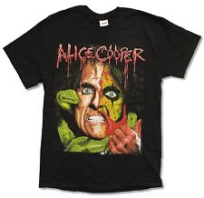 """ALICE COOPER """"RAISE THE DEAD TOUR"""" BLACK T-SHIRT NEW OFFICIAL ADULT BAND 2013"""