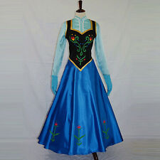Pop Style Adult Lady Women Queen Princess Dress Cosplay Evening Party Costume