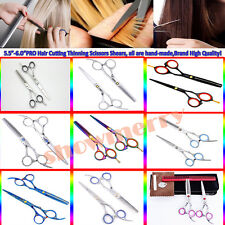 Professional Hairdressing Scissors Set Barber Salon Hair Cutting Thinning Shears