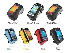 Roswheel Cycling Frame Bag Bicycle Bike Front Tube Mobile Cell Phone Case TR145