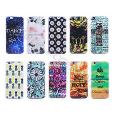 1×Ultra Slim 0.6mm Fashion Soft TPU Rubber Silicone Cover Case For Mobile Phones