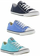 Converse CT Dainty Oxford Womens Trainers Canvas Lace-up Shoes Sizes 4 - 8