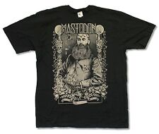 "MASTODON ""BEARD"" BLACK T SHIRT NEW OFFICIAL ADULT METAL MUSIC BAND"