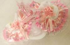 DREAM GIRLS ROMANY PINK RIBBON SEQUIN FRILLY SOCKS ALL SIZES AVAILABLE