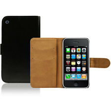 Flip Pu Leather Flip Wallet Case Cover For The Apple iPhone 3G 3Gs