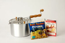 Wabash Valley Farms Whirley Pop Stovetop 6 Quart Popcorn Popper