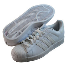Adidas Womens Superstar 2 White fashion sneakers DISCOLORED