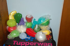 TUPPERWARE fruit vegetable veggie KEEPERS : BUY FOUR get ONE FREE forget me not