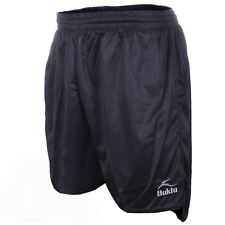Bukta Barca Stripe Black Football Shorts All Sizes Available rrp£15