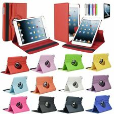 360 Rotating PU Leather Case Cover Stand for APPLE iPad iPad 4 3 2 Smart Sleep