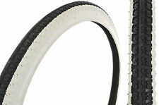 26 x2.125 WHITE WALL TYRES FOR USA TYPE CRUISER/MOUNTAIN BIKE CENTRE RIB