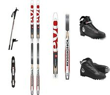 NEW ROSSIGNOL EvoAction NIS NNN POSITRCK CROSS COUNTRY SKIS/BINDINGS/BOOTS/POLES