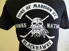 NEW Chicago Blackhawks SON'S OF MADISON STREET T-SHIRT Anarchy  Kane Towes