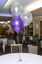 Engagement Party Helium Balloons - 10 Table Decorations - DIY Kit - Many Colours