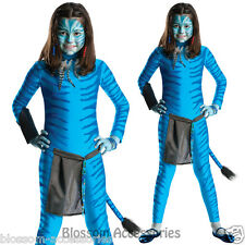 CK347 Avatar Movie Neytiri Child Girls Skin Bodysuit Costume Fancy Dress Outfit