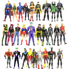 Amazing Gift Dc Comic Universe Jul Super Man Girl Batman Robin Joker Figures Toy