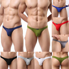 Sexy Mens Underwear G-string Thongs Modal Mini Panties Nightwear M L XL 8 Colors