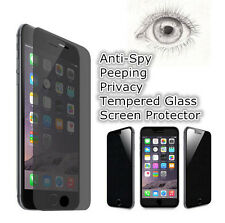 Anti-Spy Peeping Privacy Tempered Glass Screen Protector Fr iPhone 4 5 5S 6 Plus