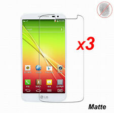3x Anti-Glare Matte/ Clear LCD Screen Protector Cover Guard Film for LG G2 Mini