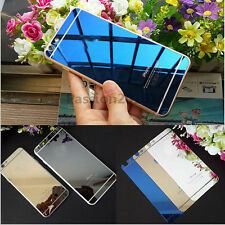 Colored Mirror Tempered Glass Film Screen Protector For iPhone 6 4.7 6 Plus 5.5