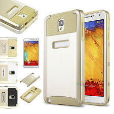 Gold Hybrid Shockproof Hard Rugged Glossy Case Cover For Samsung Galaxy Note 3