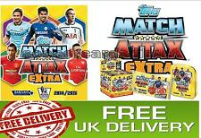 Topps Match Attax EXTRA 2014-2015 14/15 - NEW SIGNING & DUO CARDS - FREE UK POST