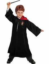 Child Ron Weasley Costume Harry Potter Movie Fancy Dress Book Outfit With Wand