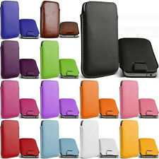 NEW PULL UP TAB POUCH COVER CASE COVER POUCH FOR SAMSUNG&VARIOUS MOBILE PHONES