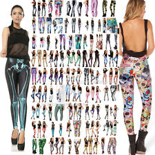 Party Galaxy Leggings 3D Graphic Starry Sky Skinny Pants Jeans Trousers S-M,L-XL
