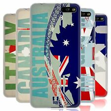 HEAD CASE FLAGS AND LANDMARKS SILICONE GEL CASE FOR AMAZON FIRE PHONE