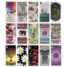 Multicolored Nice Patterned Soft TPU Case Silicone Rubber Cover For Smart Phones
