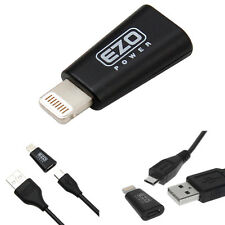 Apple Certified MFI Micro-USB Female to Lightning 8-Pin Male Adapter Converter