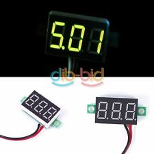 1/3Pcs DC 0-32V Pannello LED Voltage Meter 3-Digital Display Voltmetro Moto